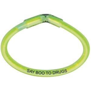 Say Boo To Drugs Safety Glow Bracelet
