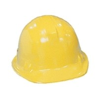 Plastic Costume Quality Hard Hat (Yellow)