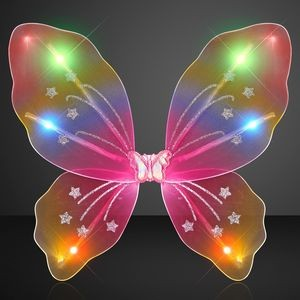 Rainbow LED Fairy Wings