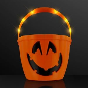 Pumpkin Light Handle Halloween Bucket