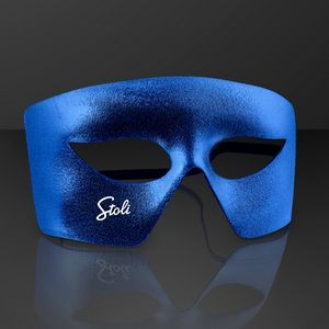 Blue Costume Mask, Mardi Gras Throws (NON-Light Up)