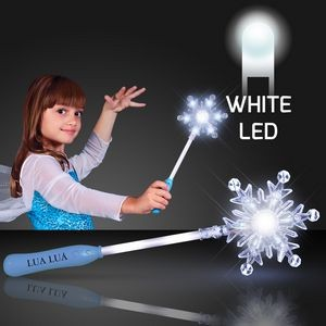 Imprinted Light Up Snowflake Wand