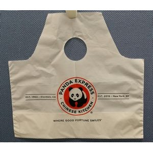 Big Top Wave Single Poly Die Cut Bag