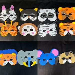 "13"" Foam Animal Mask"