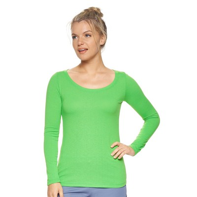 Women's TriTec™ LS Scoop Neck Tee