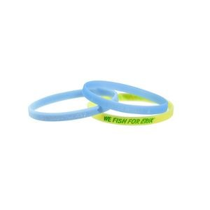 "1/4"" 5 Day Glow In The Dark Silicone Bands"