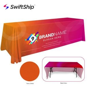 8' Full Color Event Table Cover