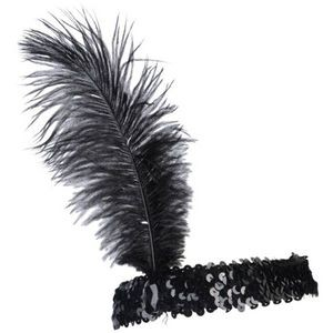 Ostrich Feather Head Band (Case of 17)