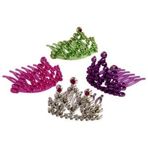 Princess Tiara Combs (Case of 36)