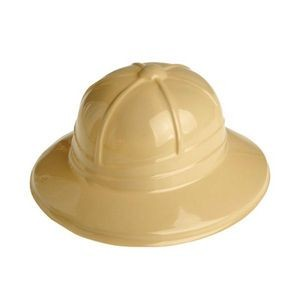 Adult Size Plastic Safari Pith Hats (Case of 9)