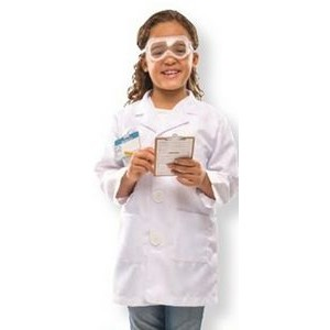 Scientist Role Play Costume Set