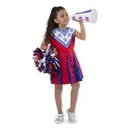Cheerleader Role Play Costume Set