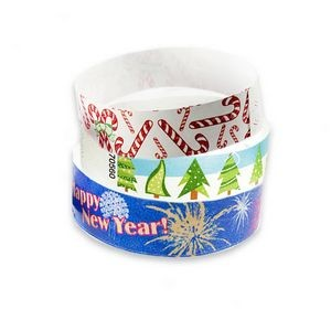 Holiday Stock Tyvek® Wristbands