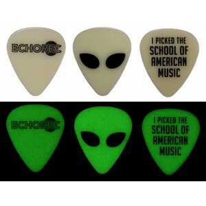 Glow in the Dark Guitar Pick (1 Color Imprint)