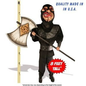 Executioner w/Axe Mascot Costume