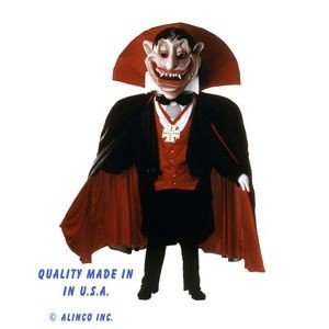 The Count Mascot Costume