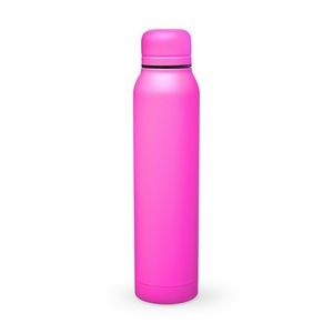17 Oz. H2go Pink Water Bottle - Vacuum Insulated Stainless Steel Bottle