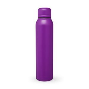17 Oz. H2go Purple Water Bottle/Vacuum Insulated Stainless Steel Bottle