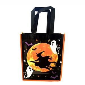 Laminated Halloween Tote Bag