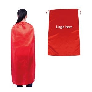 Single layer Satin Adult Capes
